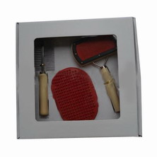 pet brush and comb set